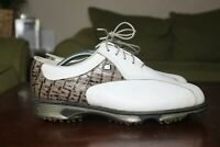 FJ FOOTJOY 53643 DRYJOYS FAUX CROC PRINT GOLF Performance SHOE Men Sz 9.5