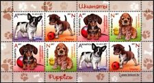 BELARUS 2017-04 FAUNA: Dogs / Puppies. Souvenir Sheet, MNH