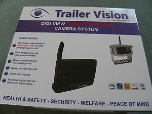 TRAILER VISION DIGI-VIEW PONY HORSE WIRELESS CAMERA SYSTEM EASY FIT 36% OFF RRP