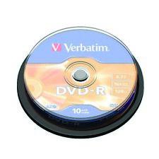 Verbatim 4.7GB 16x Speed Jewel Case DVD-R (Pack of 10) 43486