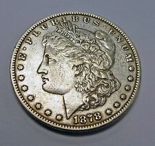 1878 P Morgan SILVER Dollar VAM 33 7/8  Legs Doubled  Long Nock