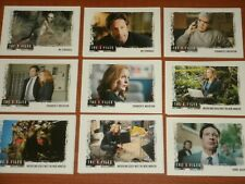 THE X-FILES Seasons 10 & 11 Complete Base Set Of 96 Trading Cards Mulder Scully