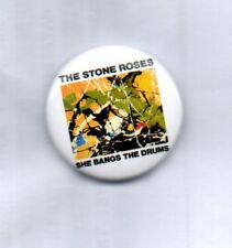 THE STONE ROSES She Bangs The Drums BUTTON BADGE - ENGLISH INDIE ROCK BAND  25mm