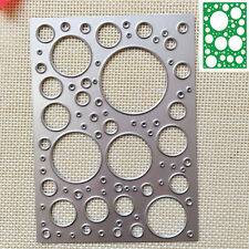 Circle Cutter Cutting Dies Stencil Scrapbooking Cards Paper Embossing Craft