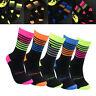 Men Women Outdoor Sports Racing Cycling Socks Breathable Bike Socks 84AU