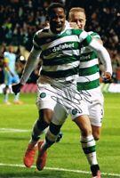 Signed Moussa Dembele Glasgow Celtic Autograph Photo France Fulham