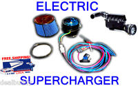 Dodge Performance Electric Turbo Air Intake Supercharger Fan Kit - FREE USA SHIP