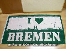 Fahnen Flagge Ich Liebe Bremen Fan - 90 x 150 cm