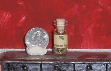 Dollhouse Miniature Witch Potion Jar Poison Ivy 1:12 in scale A10 Dollys Gallery