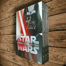 Star Wars Saga Movie Episodes Season 1-9 Complete Series DVD Collection Sealed