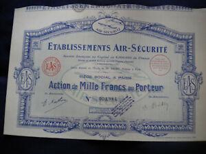 AVIATION - ETS AIR  SECURITE