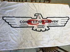 "HOLMAN MOODY COMPETITION PROVEN CP EAGLE BIRD FORD NASCAR LOGO 5"" BANNER SIGN"