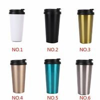 Stainless Steel Portable Leakproof Insulated Thermal Travel Coffee Mug Cup