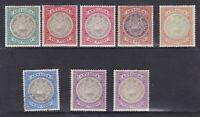 BC923) Antigua 1903-07 wmk Crown CC ½d (crease) Mint, 1d (1 Mint, 1 MNG)