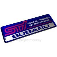 NEW!!SUBARU GDB Impreza WRX STI RECARO Seat Sticker Emblem OEM JDM