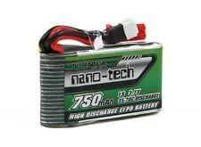 Turnigy nano-tech 750mAh 1S 35-70C Lipo Pack Walkera V120D02SQR Infra XQR W100S