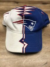 NEW ENGLAND PATRIOTS NFL FOOTBALL VINTAGE 90s STARTER SHOCKWAVE YOUTH SNAPBACK
