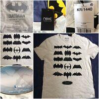 NEXT LOGO Batman Bat Man DC Comics TV Mens Womens Tee TShirt T-Shirt Woman