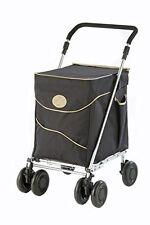 Sholley Trolley Petite Deluxe in Black & Beige