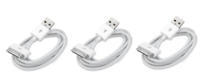 3x 6FT Sync Data Charging Charger Cable Cord for iPhone 4 4S iPod Classic Nano