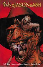 Freddy vs Jason vs Ash by Katz, Kuhoric & Craig 2008 TPB DE DC Wildstorm OOP