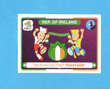 PANINI-EURO 2012-Figurina n.40- IRLANDA -NEW-WHITE BOARD