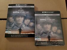 Saving Private Ryan: w/Rare Slipcover (4K Ultra Hd & Blu-ray) No Code
