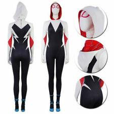 Spider Man Into the Spider-Verse Gwen Stacy Zentai Jumpsuits Cosplay Costume