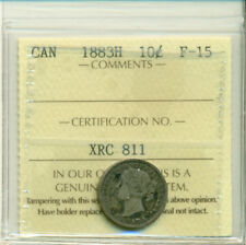 ICCS CAN 1883H 10 cents F-15 Certification No. XRC 811