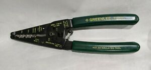 Greenlee Tool Dual NM Romex Style Cable Stripper & Cutter excellent condition