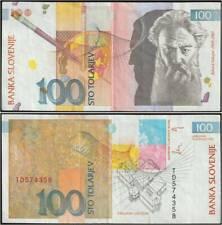 SLOVENIA 100 TOLARJEV 15/1/1992