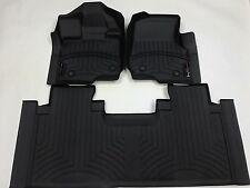 WeatherTech FloorLiner for Ford F-150 SuperCab w/ Bench - 2015-2017 - Black