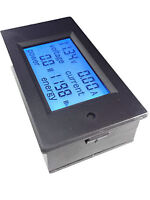 New DC 20A Panel Meter Voltage Current Power Combo Monitor for Car Battery Solar