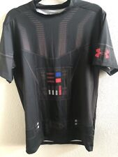 Under Armour® Alter Ego Star Wars Darth Vader Compression Shirt Size XL NEW