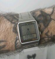 Casio AE-91W Digi-Ana module 188 Alarm Chrono Quartz watch Japan 1984