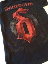Mens black short sleeve Shirt size small Shinedown