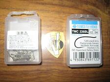 2 Tiemco TMC 226BL Ultimate Caddis pupa Barbless Bronze Up Eye Hooks 40 Size 16