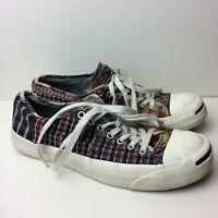 CONVERSE Jack Purcell Patchwork Canvas Low-Top Sneakers Men's 8 Women's 9.5