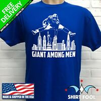 NEW YORK GIANTS SAQUON BARKLEY ***GIANT AMONG MEN*** T-SHIRT