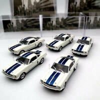 5PCS OF IXO 1:43 Ford Mustang Shelby GT 350H 1965 Diecast Toys Car Models Gifts