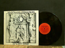 MAYNARD FERGUSON  It's My Time   LP   Jazz  Trumpet   GREAT !