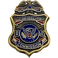 CL13-10 Nuclear Commission Regulatory Commission Special Agent metal pin