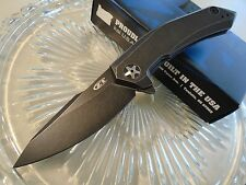 Zero Tolerance Titanium KVT Bearing Flipper Pocket Knife 0095BW S35VN New USA