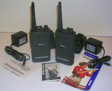 Motorola Pair Vhf Mv11 C 2 Way Radios Field Programmable On Same Chan Pkg Lot