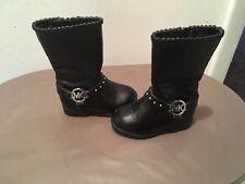 Michael Kors Toddler Girls Black Ankle Studded Boots Sz 7