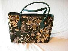 Large Heavy Cotton Canvas Java Day Bag Moss Green Ideal Shopping Overnight Bag
