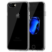 For New Apple iPhone 7 & 7 Plus Ultra Thin Soft TPU Clear Gel Skin Case Cover