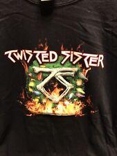 Vintage Original Twisted Sister Christmas Tour Shirt 2006 Dee Snyder Size Xl
