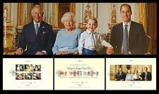 RARE 2016 HM The Queen's novantesimo compleanno stamp souvenir Pack Limited Edition GB