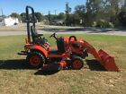 2021 Kubota BX2380 4X4 Loader Mower Tractor with Only 42 Hours